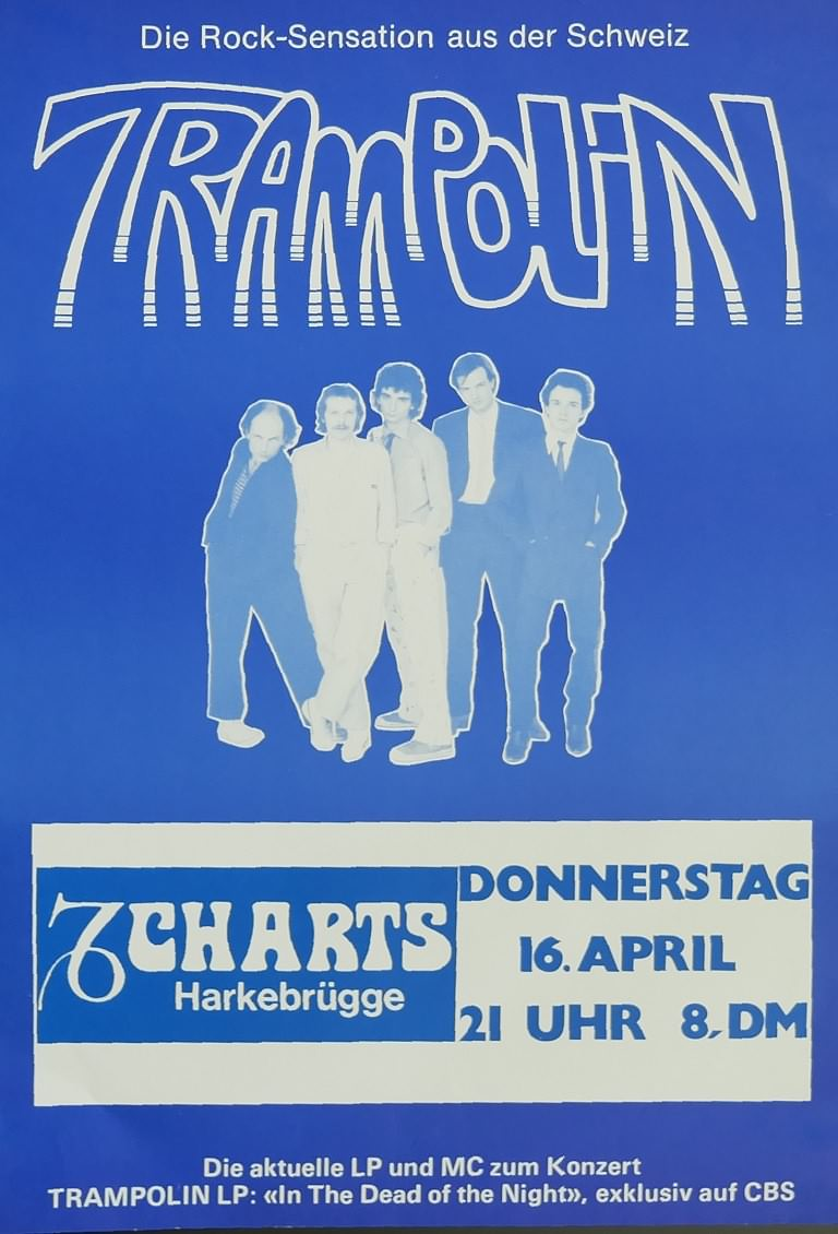 Trampolin, 16. April 1981, Charts, Harkebrügge