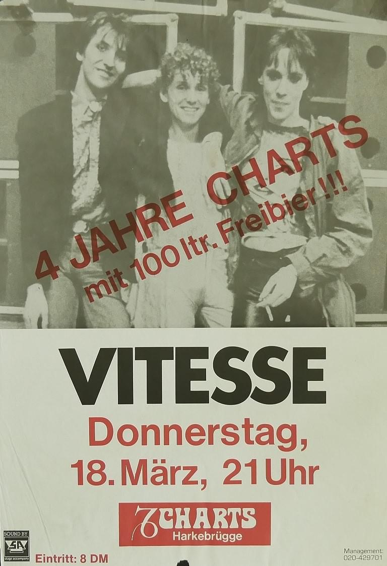 Vitesse, 18. März 1982, Charts, Harkebrügge
