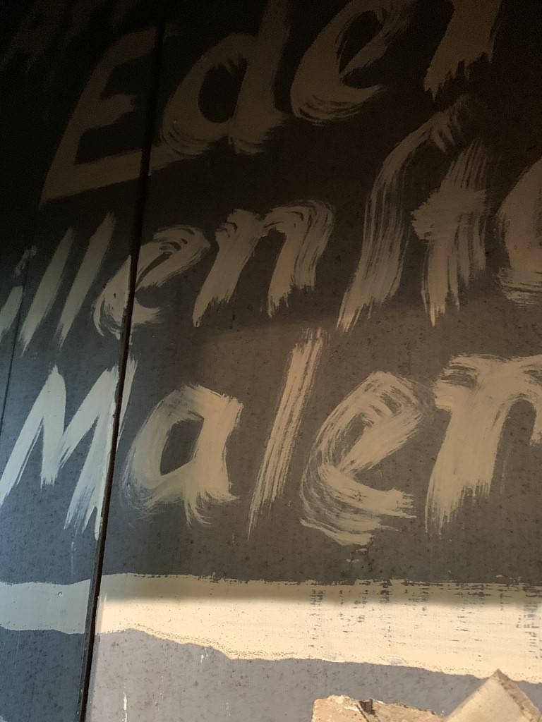 Signatur von Artur Eden-Sillenstede