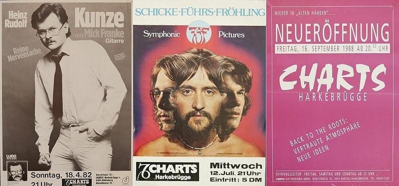 Live im Charts – Konzertplakate der 1970er bis 1990er Jahre