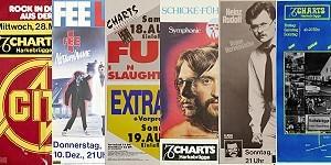 Online-Ausstellung Konzertplakate Charts