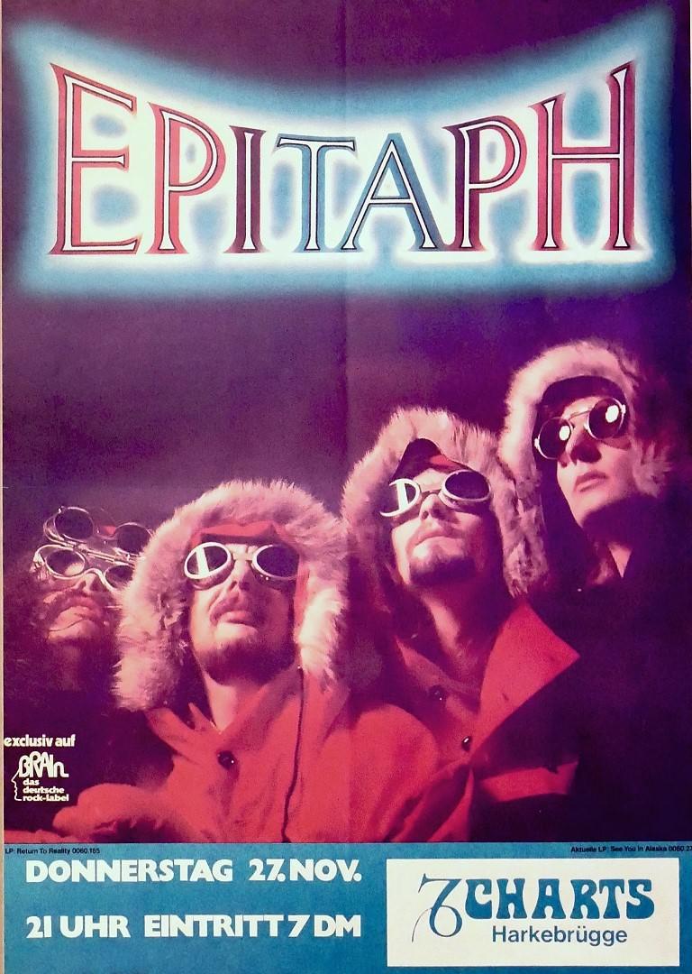Epitaph 27. November 1980, Charts, Harkebrügge