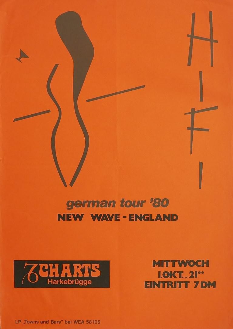HiFi 1. Oktober 1980, Charts, Harkebrügge