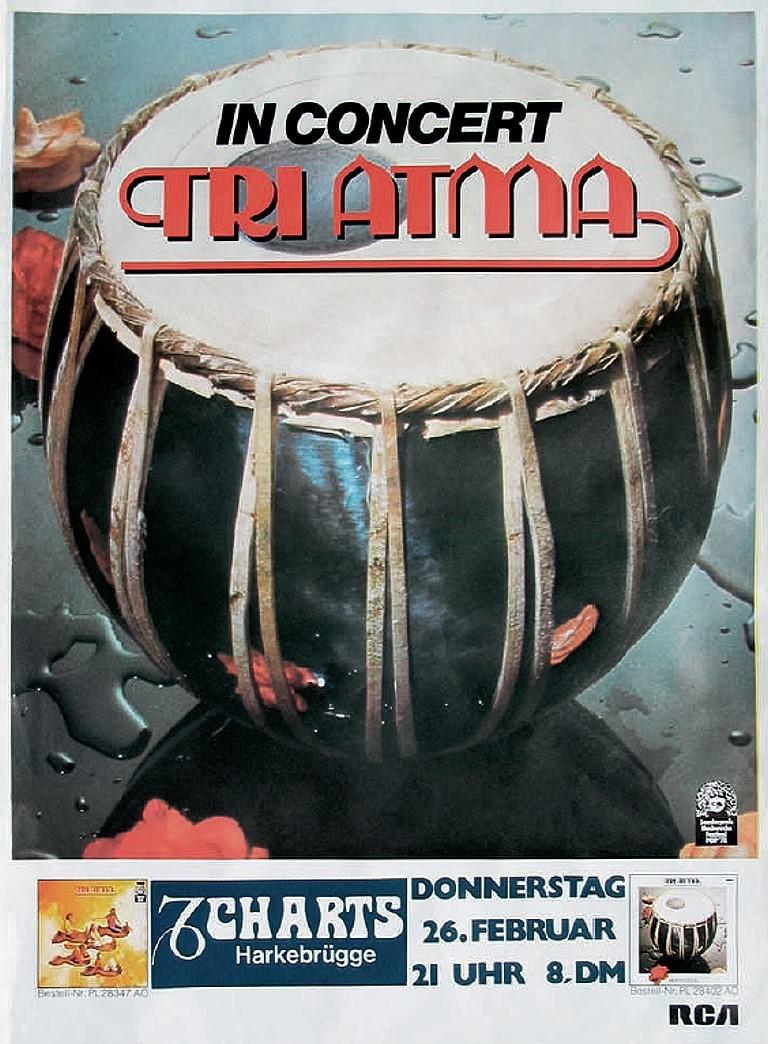 Tri Atma 26. Februar 1981, Charts, Harkebrügge