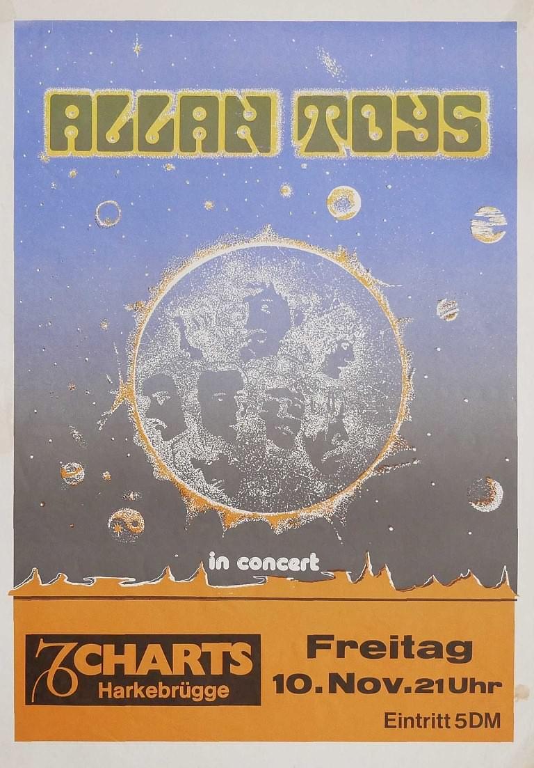 Allan Toys, 10. November 1978, Charts, Harkebrügge
