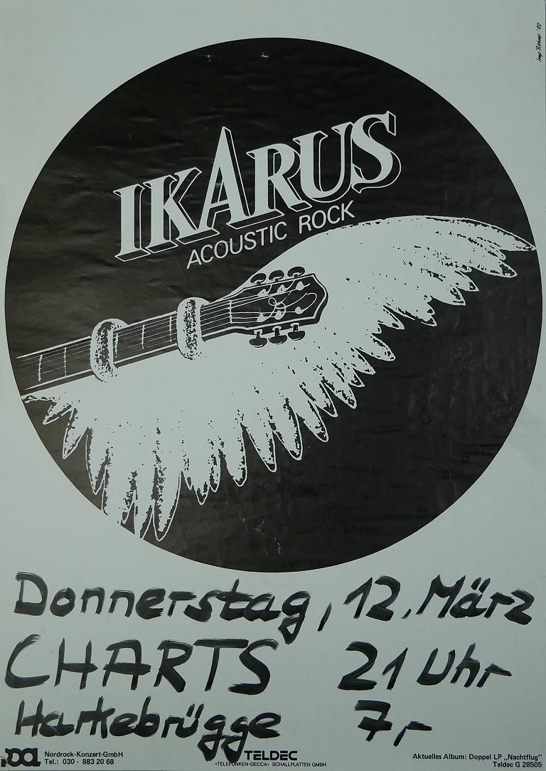 Ikarus, 12. März 1981, Charts, Harkebrügge