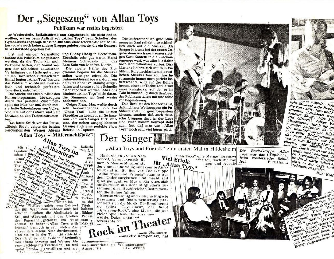 Allan Toys Presseschau